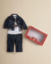 True Religion Infant Boys' Tee, Jean & Denim Jacket Set ...
