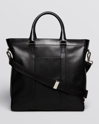 Salvatore Ferragamo Los Angeles Textured Leather Tote