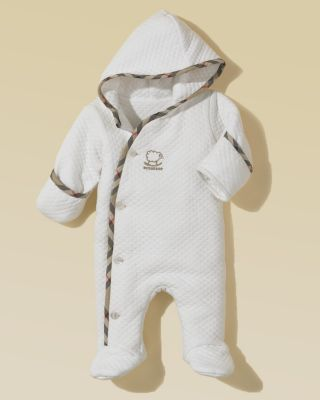 Burberry Infant's Hooded Footed Pajama