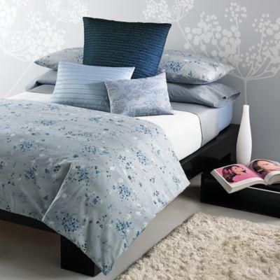 Calvin Klein Home Blue Flower Bedding Bloomingdale'