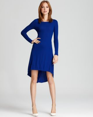 Long Sleeve High Low Dresses