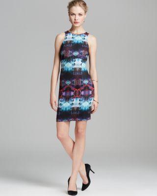 Charlie Jade Dress - Scuba Printed Bloomingdale'