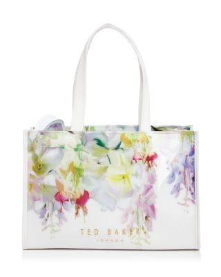 Ted Baker Hanging Garden Icon Tote With Flip Flops