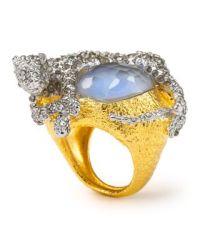 Alexis Bittar Siyabona Cerulean Panther Ring | Bloomingdale's