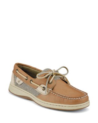 "Sperry Top-Sider ""Bluefish"" 2-Eye Linen Boat Shoes"