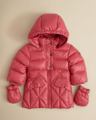 Add Outerwear Infant Girls' Long Puffer Jacket - Sizes 12