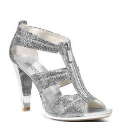 High Heel Shoe Chair Value City Swing Cad Block Michael Kors Berkley Metallic T Strap