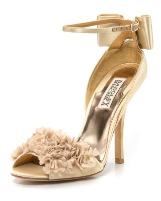 "Badgley Mischka ""Lelah"" Evening Sandals"