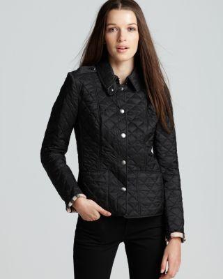 Burberry Brit Kencott Quilted Jacket Bloomingdales