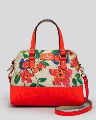 Kate Spade York Satchel - Grove Court Floral Maise Bloomingdale'