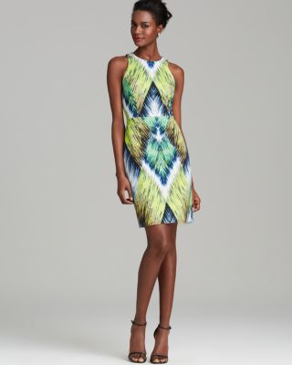 e381a050cc30 Tribal Print Sheath Dress - Year of Clean Water