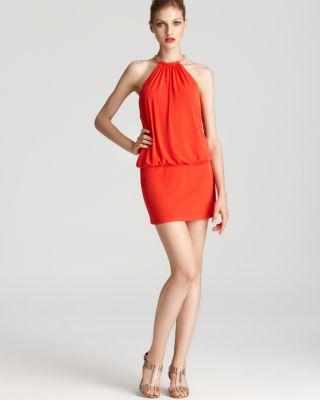 Laundry Shelli Segal Halter Dress - Matte Jersey