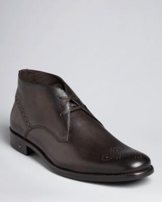 John Varvatos Usa Brogue Chukka Boots Bloomingdale'