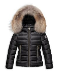 Moncler Girls' Solaire Puffer Coat - Sizes 8-14 ...