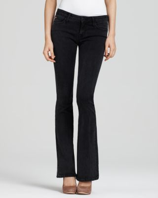 "Hudson ""mia"" Five-pocket Flare Jeans In Boulevard Wash"