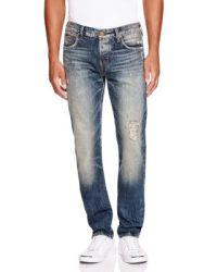 True Religion Rocco Pure Blue Renegade Slim Fit Jeans in ...