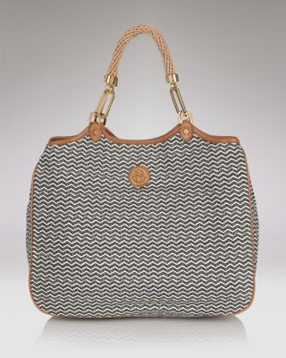 Tory Burch Channing Printed Twill Tote Bloomingdale'