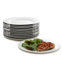 10 Strawberry Street Catering Pack Dinner Plates, Set of ...