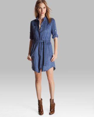 Halston Heritage Shirt Dress - Belted Bloomingdale'