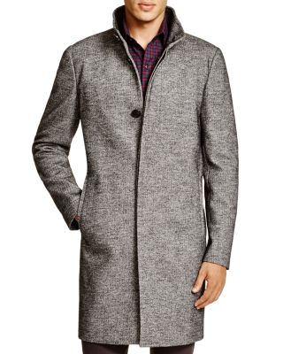 Theory Belvin Leary Wool Blend Coat Bloomingdale'