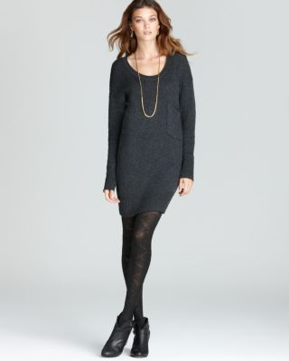 Slouchy Sweater with Dress