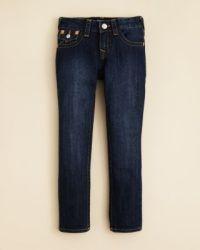 True Religion Boys' Geno Slim Fit Classic Jeans - Sizes 2 ...