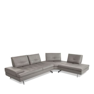 sectional sofas nyc showroom asian sofa modern luxury bloomingdale s giuseppe nicoletti toffee 100 exclusive