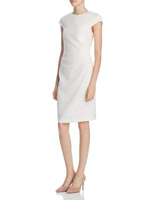 Elie tahari natalia pleated sheath dress also   clothing dresses pants bloomingdale  rh bloomingdales