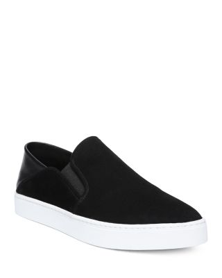 Black And White Slip On Shoes Womens