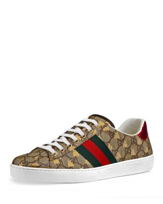Gucci Shoe Size Chart Mens : gucci, chart, Gucci, Men's, Supreme, Leather, Sneakers, Bloomingdale's