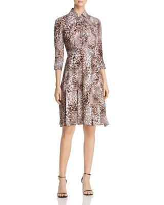 Elie tahari brinx leopard print dress also   clothing dresses pants bloomingdale  rh bloomingdales