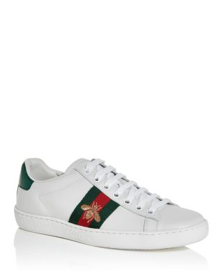 Gucci Shoe Size Chart Mens : gucci, chart, Gucci, Women's, Embroidered, Sneakers, Bloomingdale's