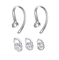 2 Earhook and 3 S/M/L Eartips for Plantronics
