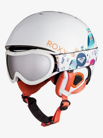 Goggles Under Helmet : goggles, under, helmet, Girl's, Girls, Misty, Helmet, Goggle, ERGTL03001