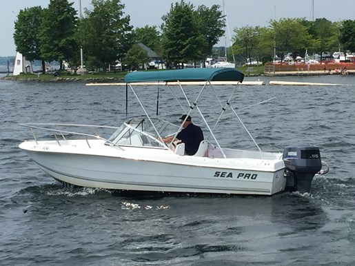 Sea Pro 190 D/C 2002 Used Boat For Sale In Gananoque, Ontario