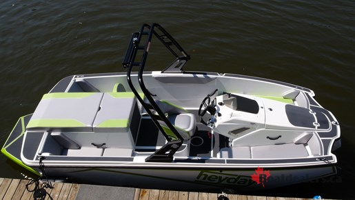 2017 Heyday WT 1 Ski And Wakeboard Boat Review