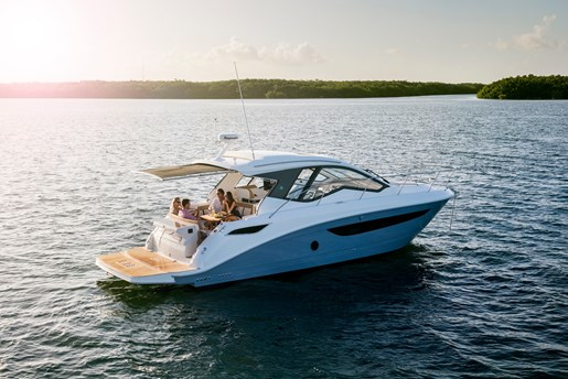 2017 Sea Ray Sundancer 350 Coupe Cruisers Boat Review