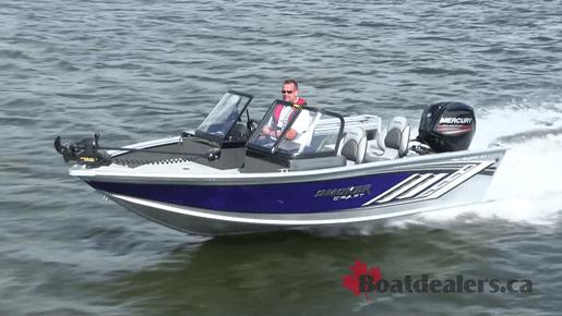 2018 Smokercraft Pro Angler 172 XL Aluminum Fishing Boat