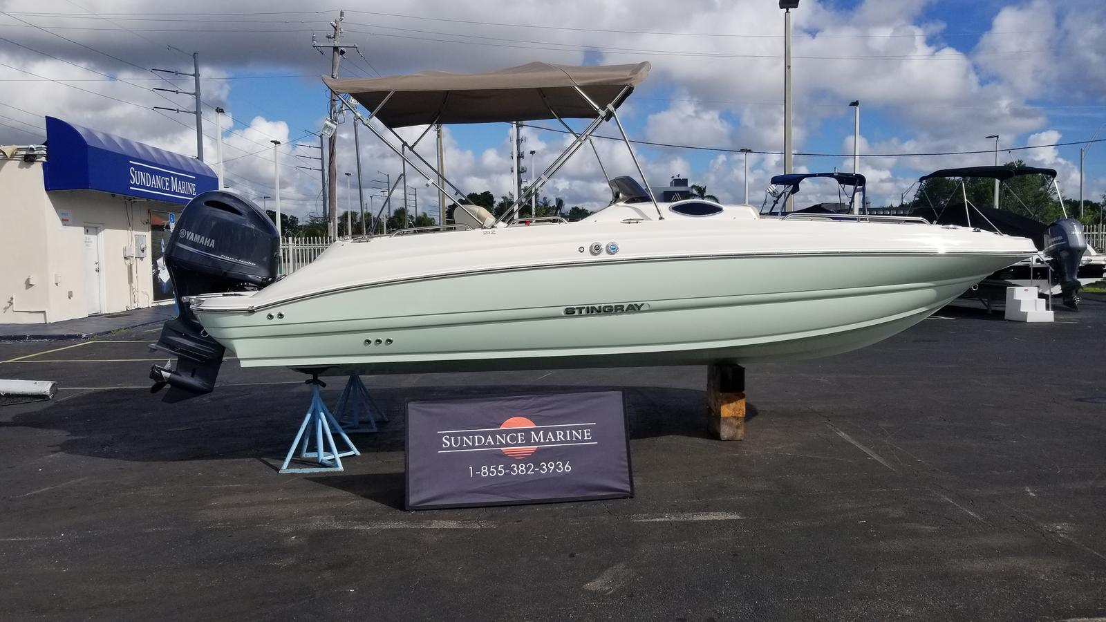 2018 Stingray 212sc Fort Lauderdale Florida