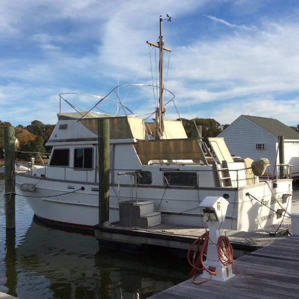 Marine Trader Trawler Bateaux En Vente