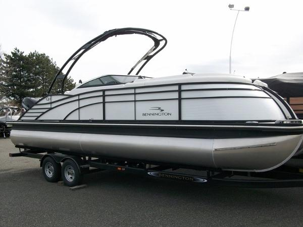 Bennington 2575 QCW Pontoon Boat Review Top Shelf Fun