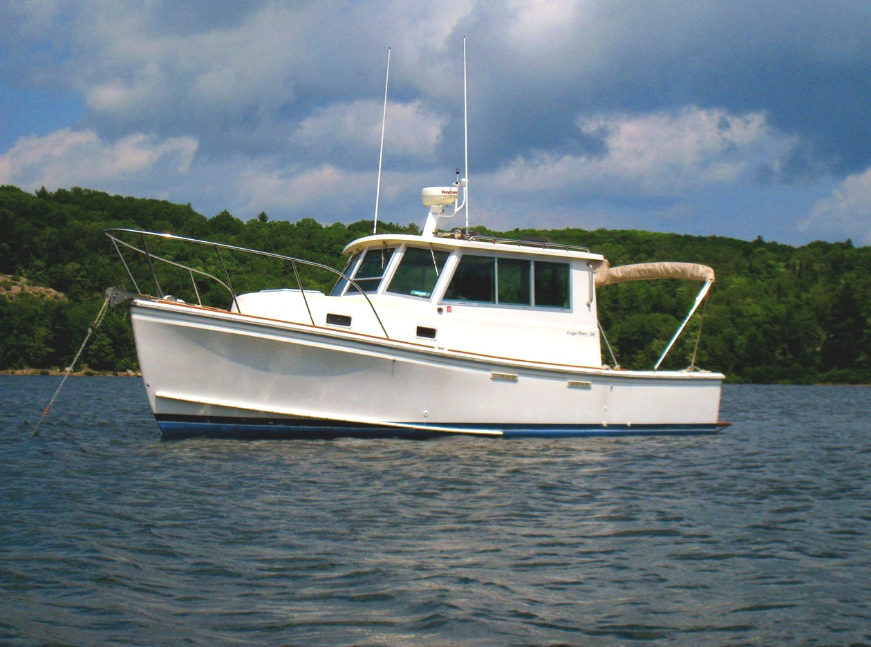 1986 Cape Dory Hard Top Cruiser Port Sanilac Michigan
