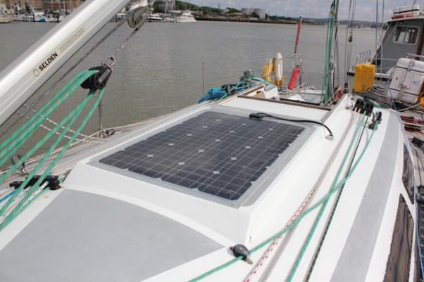 Большая солнечная панель
