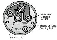 mercury outboard tachometer wiring diagram how to wire a rotary isolator switch engine instrument made easy boats com variable resistor activated gauge