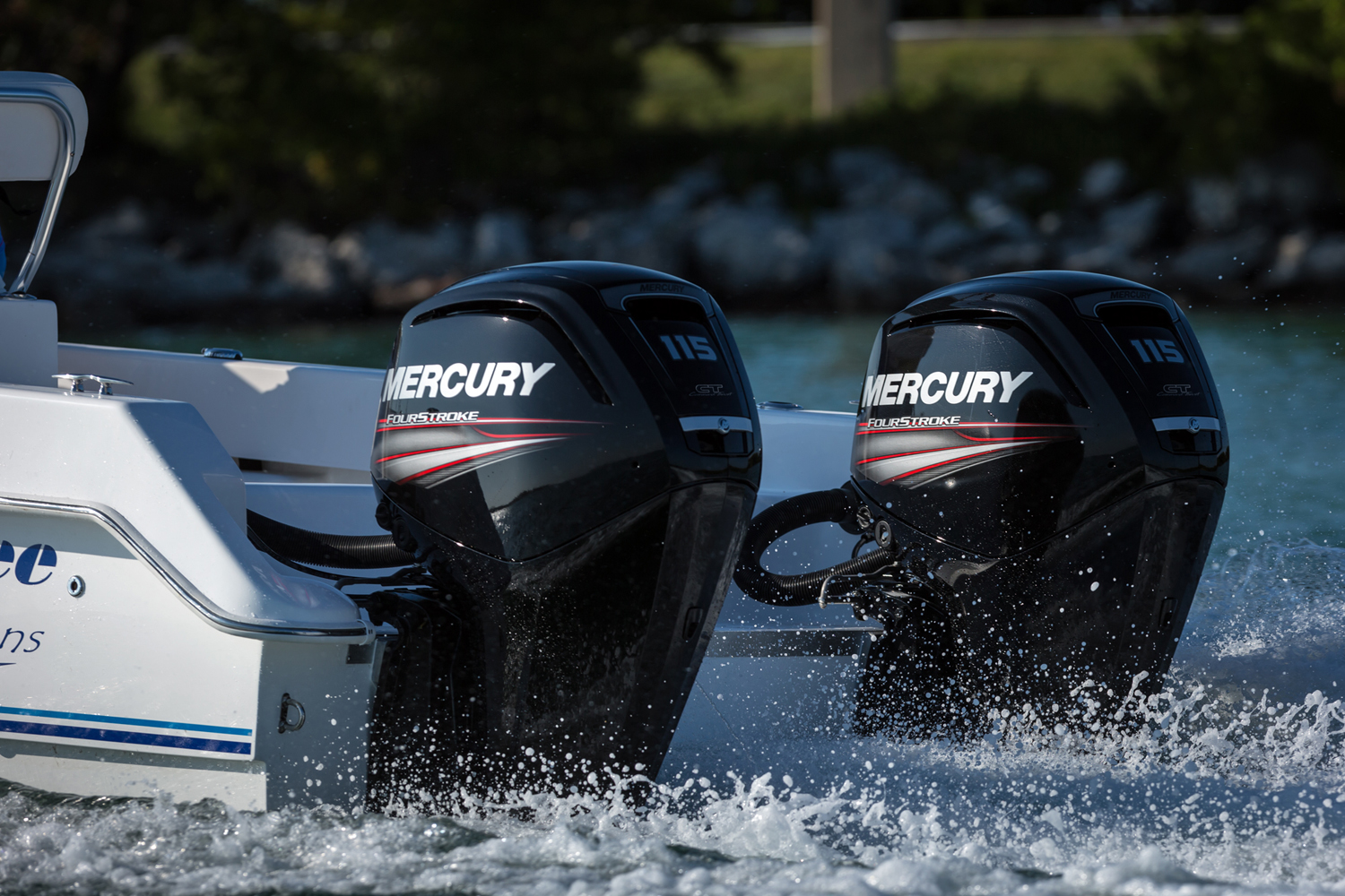 yamaha 90hp outboard wiring diagram for 2002 ford escape radio new mercury 150 fourstroke debuts - boats.com