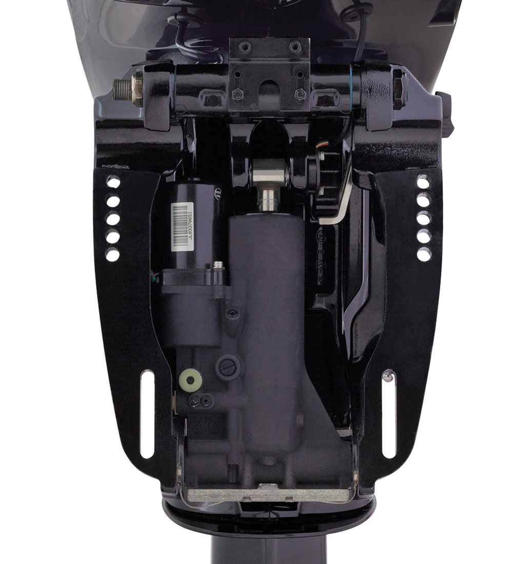 hight resolution of four stroke outboard