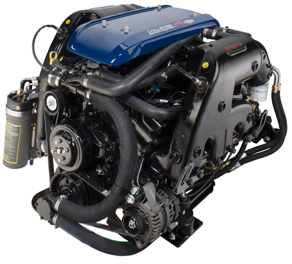 medium resolution of a crusader 5 7 liter gasoline engine with multi port fuel injection photo courtesy