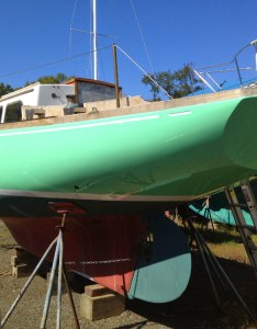 Repainting your topsides is  big project but at least it will give you also how to paint boat boats rh