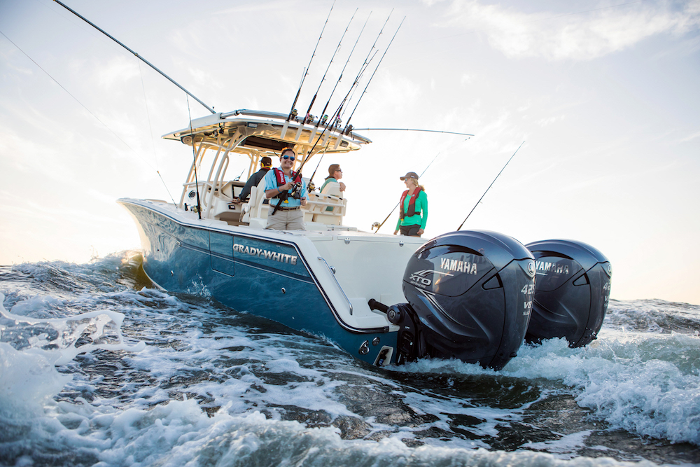 Big New Yamaha XTO Offshore 425 Outboard Revealed  boatscom