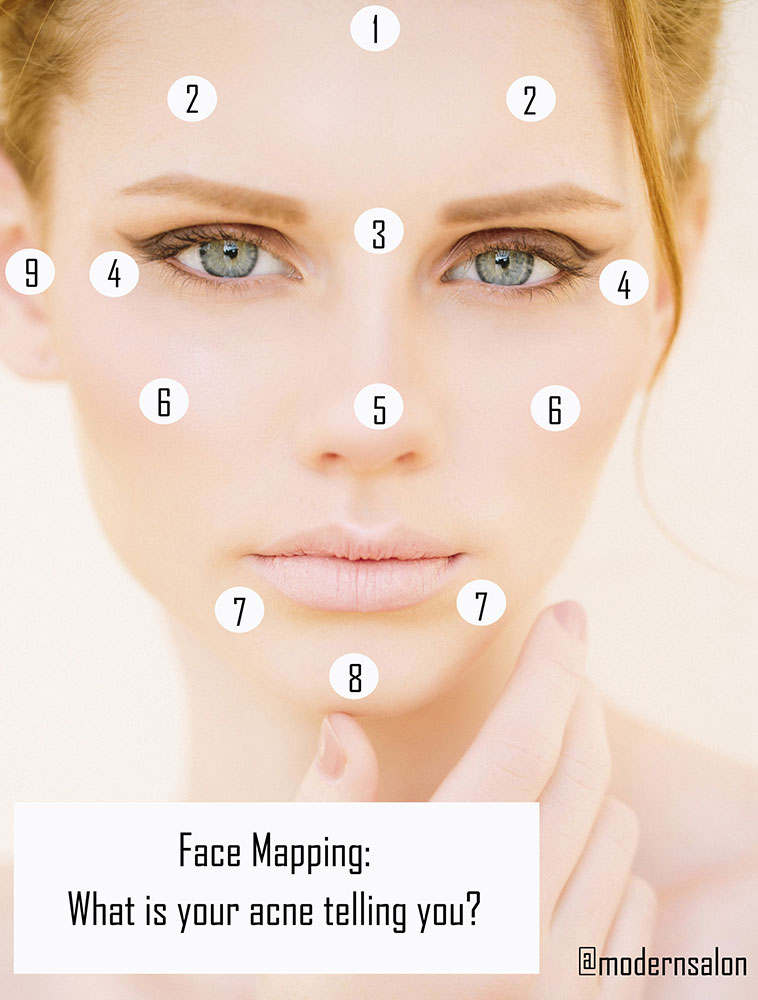 what causes acne diagram whirlpool range wiring face mapping are your breakouts telling you career